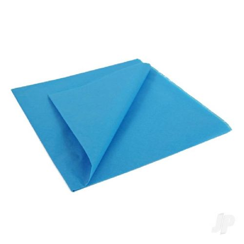 Mediterranean Blue Lightweight Tissue Covering Paper, 50x76cm, (5 Sheets)